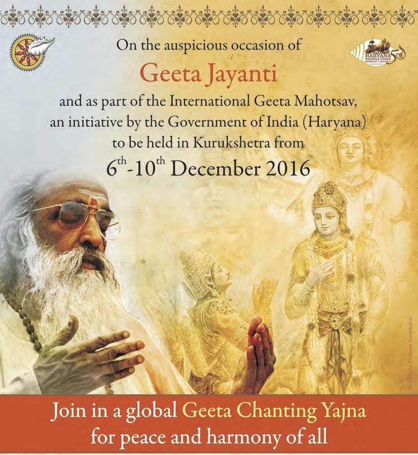 Geeta Chanting Yajna
